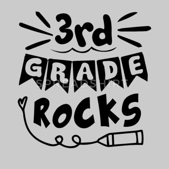 3rd Grade Rocks Shirt Men\'s Premium T.