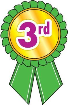 3rd Place Medal Clipart.