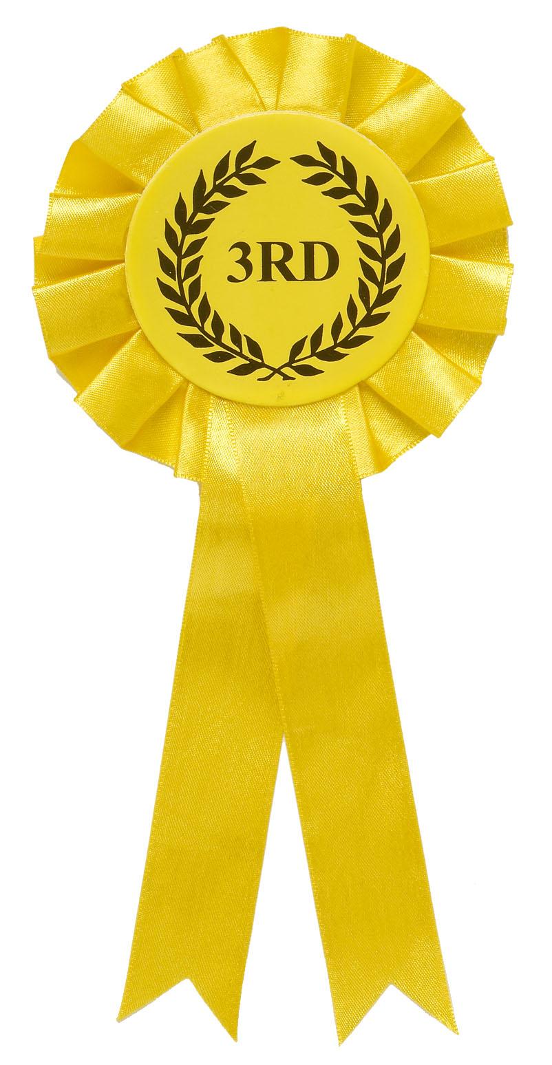 3rd Place Ribbon Clip Art N13 free image.