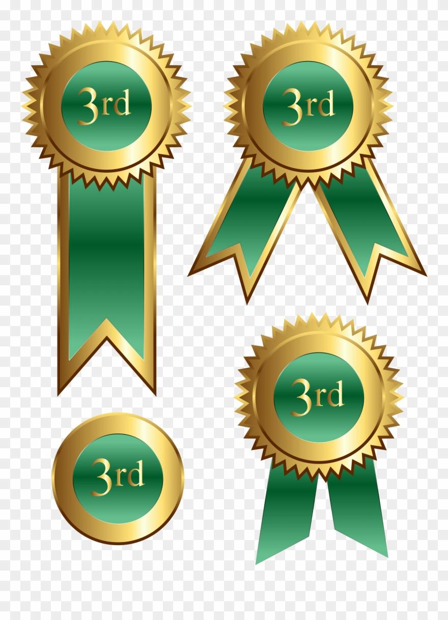 3rd Place Ribbon Clip Art.
