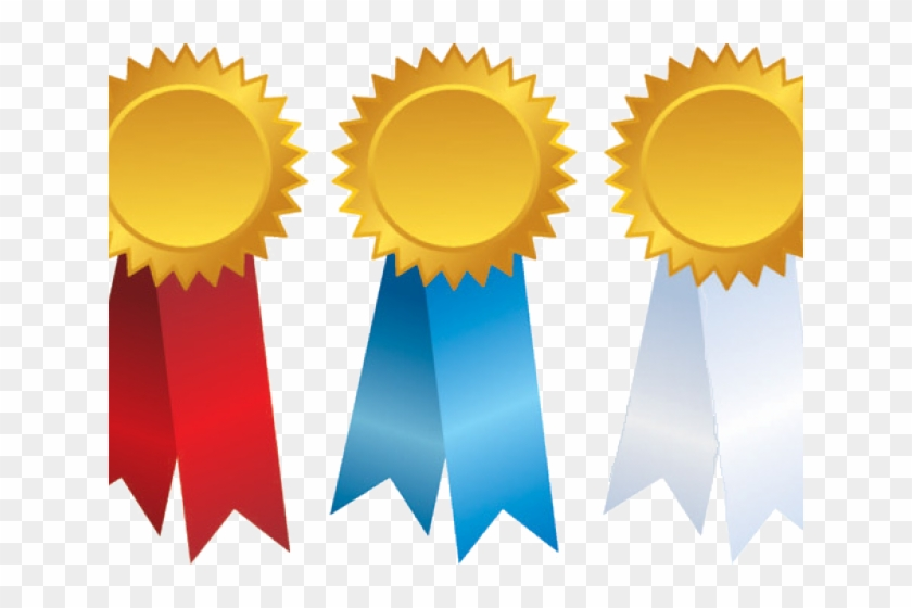 1st 2nd 3rd Place Ribbon Png, Transparent Png.