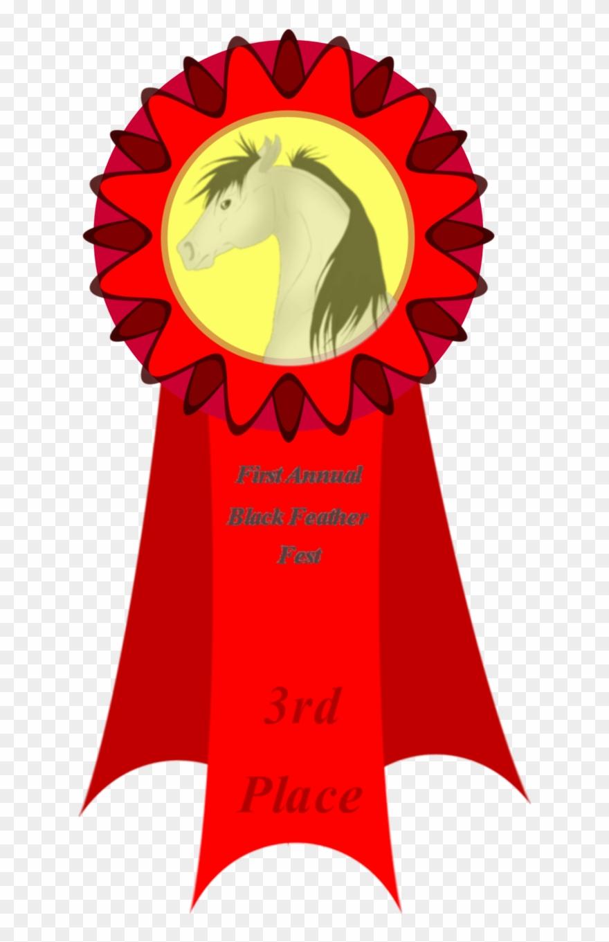 3rd Place Ribbon Clip Art N23.