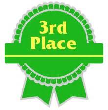 3rd Award Ribbon Clipart.