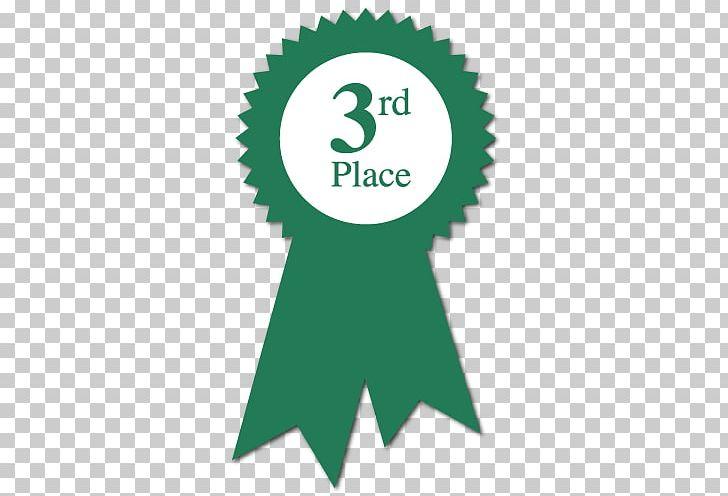 Ribbon Third Place Award PNG, Clipart, Award, Brand, Circle.