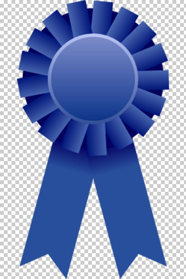 Ribbon Award Prize , Blue Ribbon , blue ribbon PNG clipart.