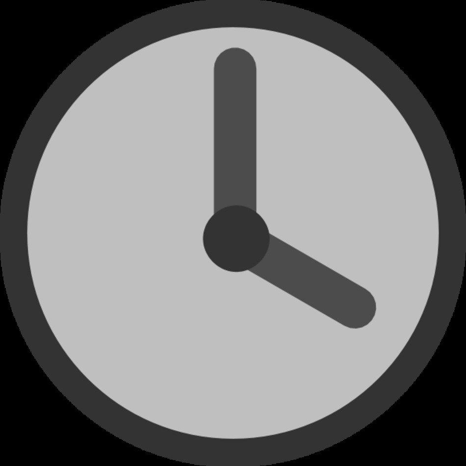 Clip Art Clock 4 00 free image.