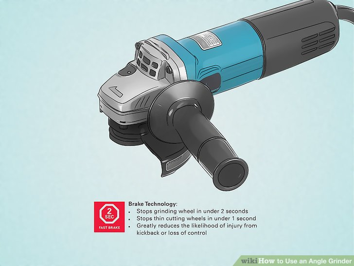 3 Ways to Use an Angle Grinder.