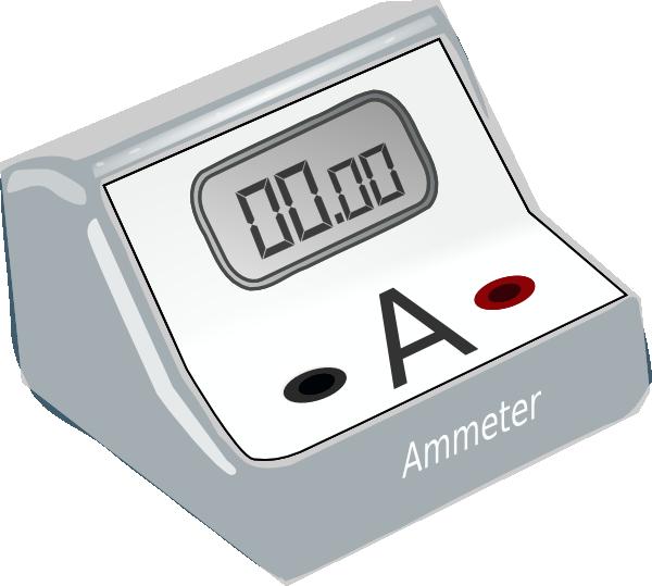 Ammeter Clip Art at Clker.com.