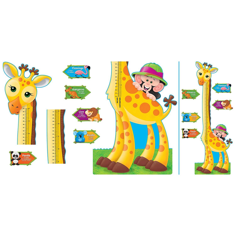 Amazon.com : Trend Enterprises Giraffe Growth Chart Bulletin Board.
