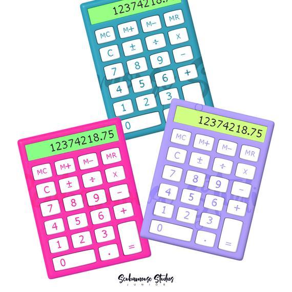 THRU 4/20 ONLY calculator clipart, calculator clip art.