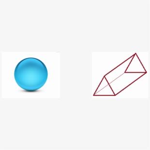 Sphere Triangular Prism V=4/3 R2 V=bh A=1/2bh.