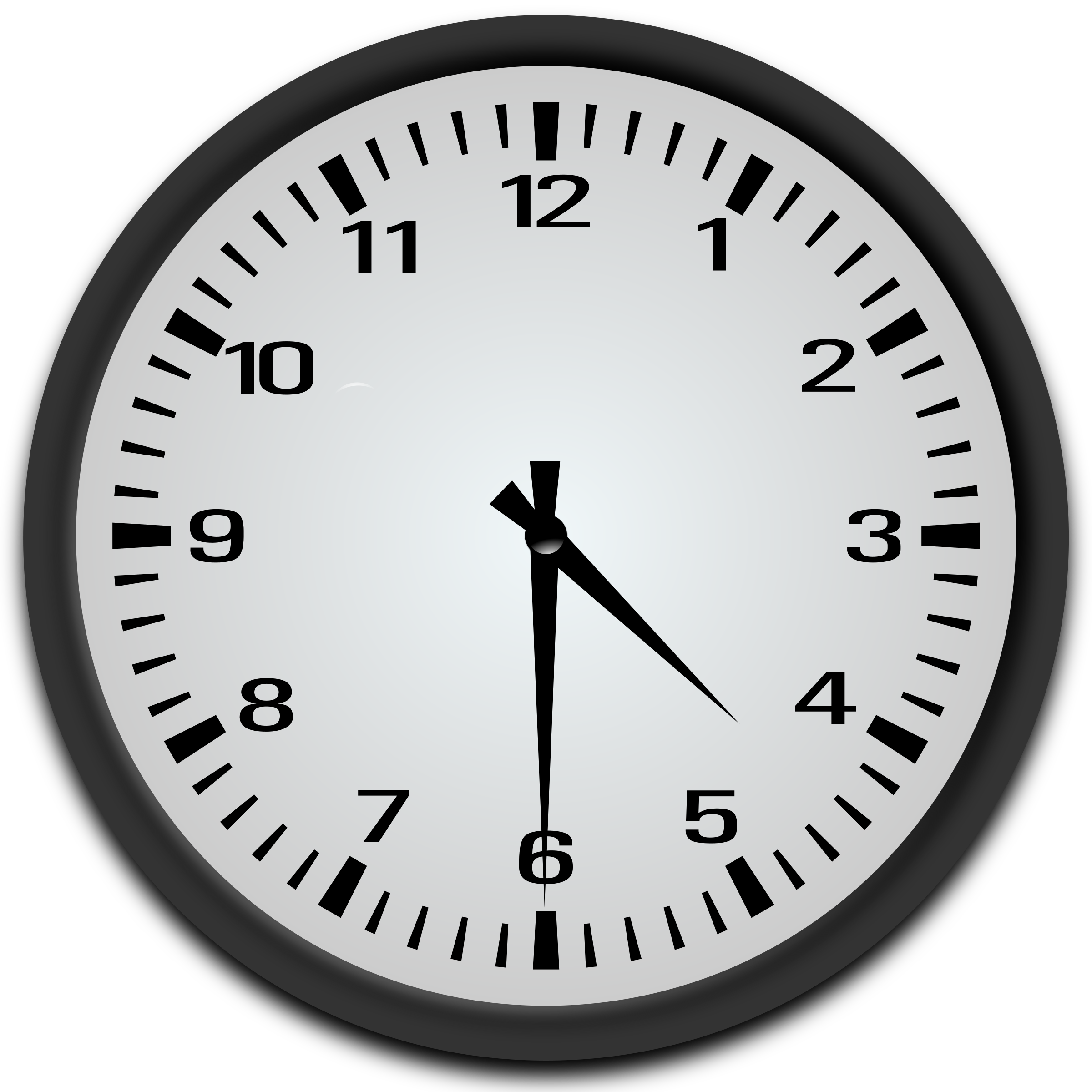 4 30 Clock Clipart.