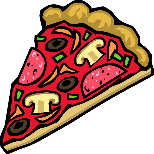 Whole cheese pizza clipart free images 4.