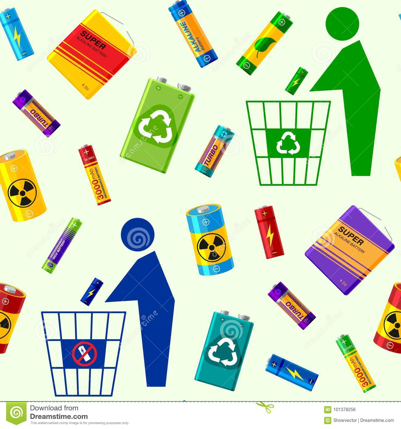 Recycling Power Stock Illustrations.