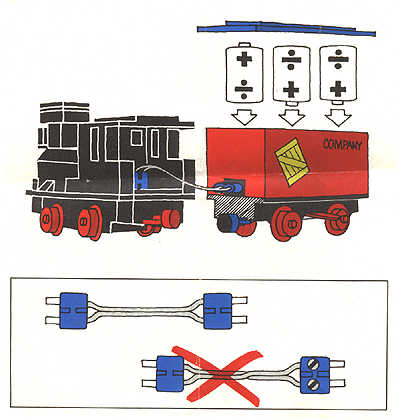 LEGO 4.5V Train with 5 Wagons Instructions 180, Trains.