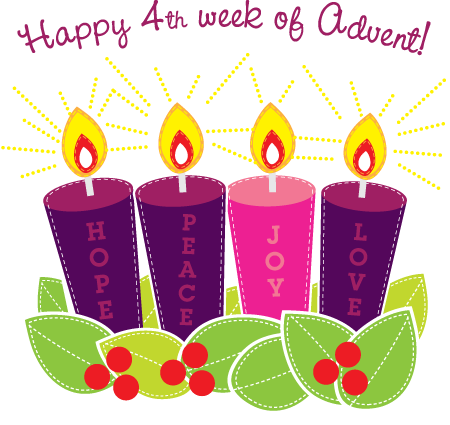 Advent love clipart.