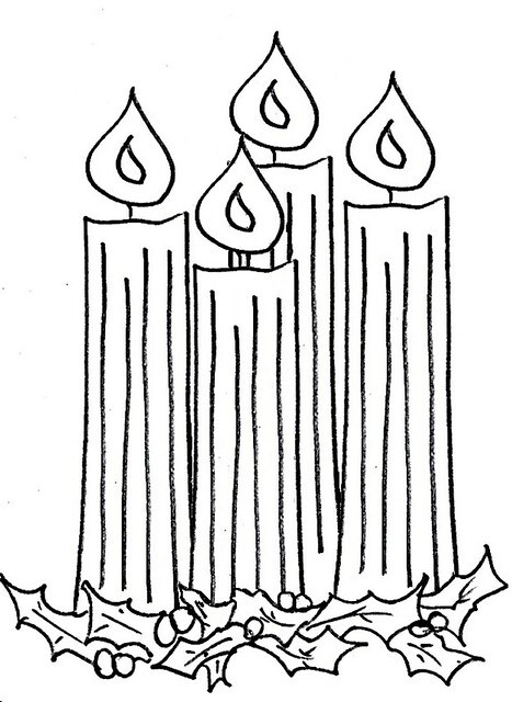 Advent 4 clip art.