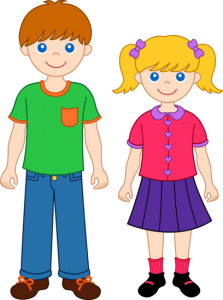 Brother clipart standing, Brother standing Transparent FREE.