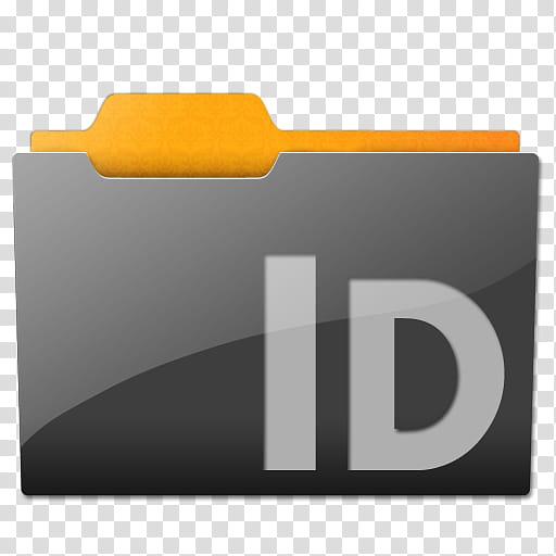 Clean Lines Folder Set CS, ID folder logo transparent.