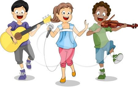 Pix For > Children Praising God Clipart.