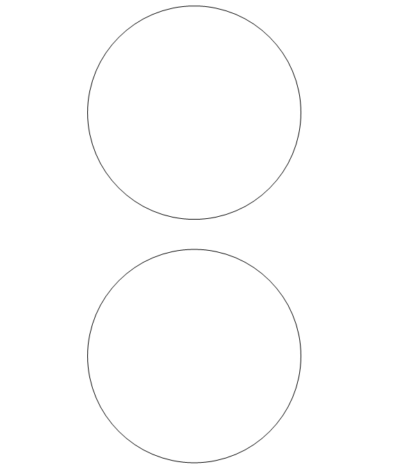 4 circles clipart Transparent pictures on F.