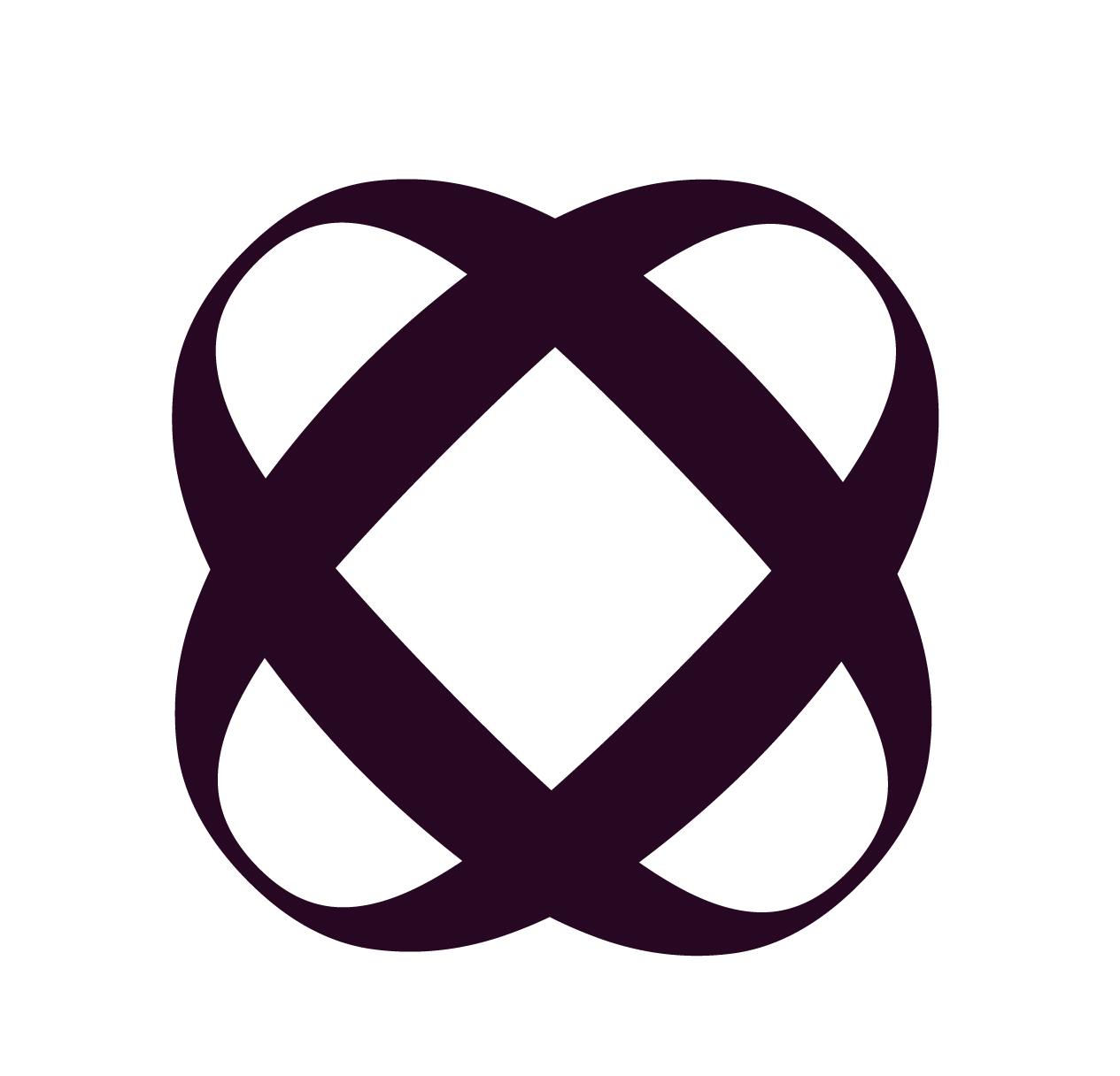 Circle Logo Aubergine.