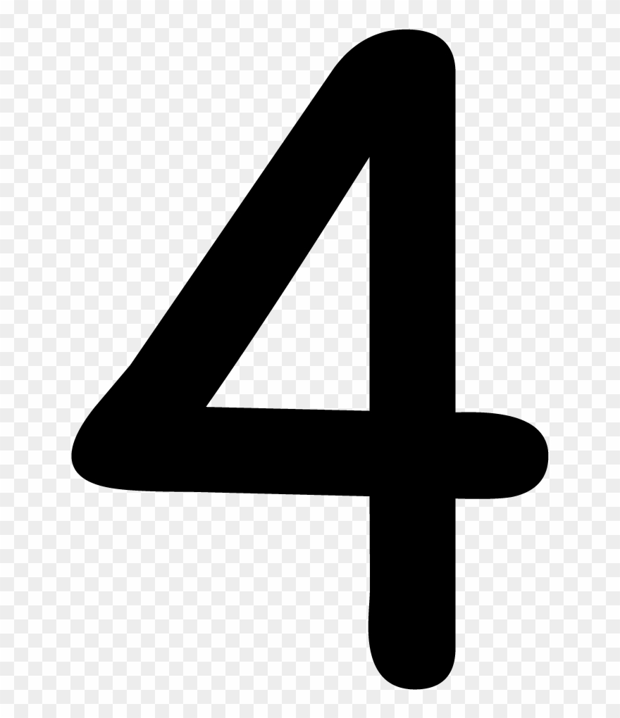 Number 4 Png.