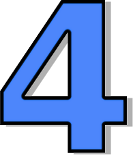 Number 4 clipart.