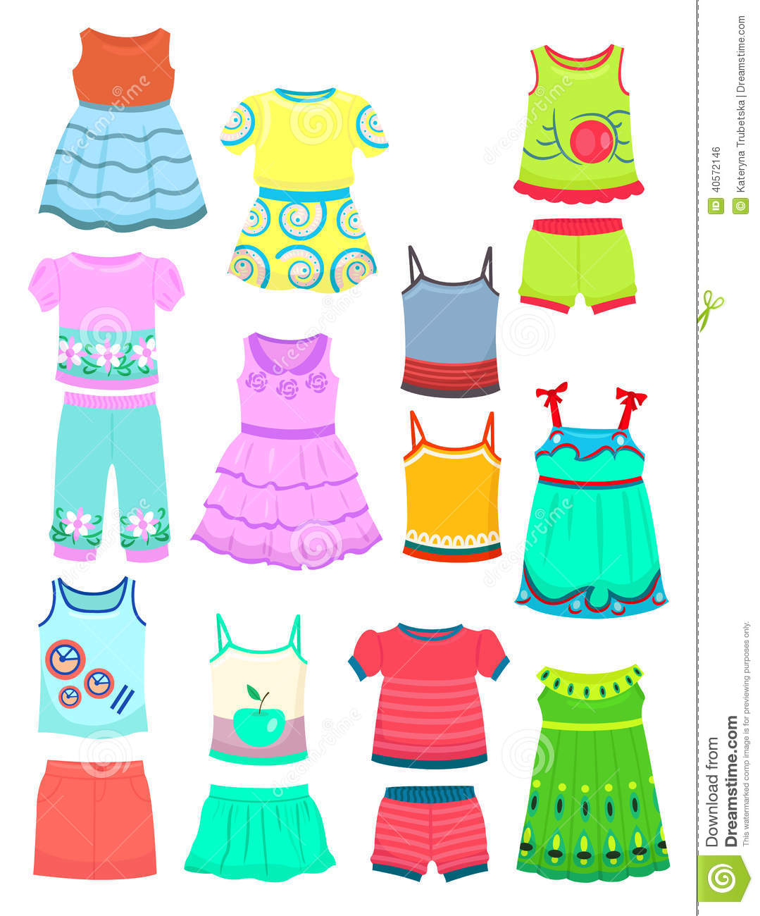Clothes for girls clipart 4 » Clipart Station.