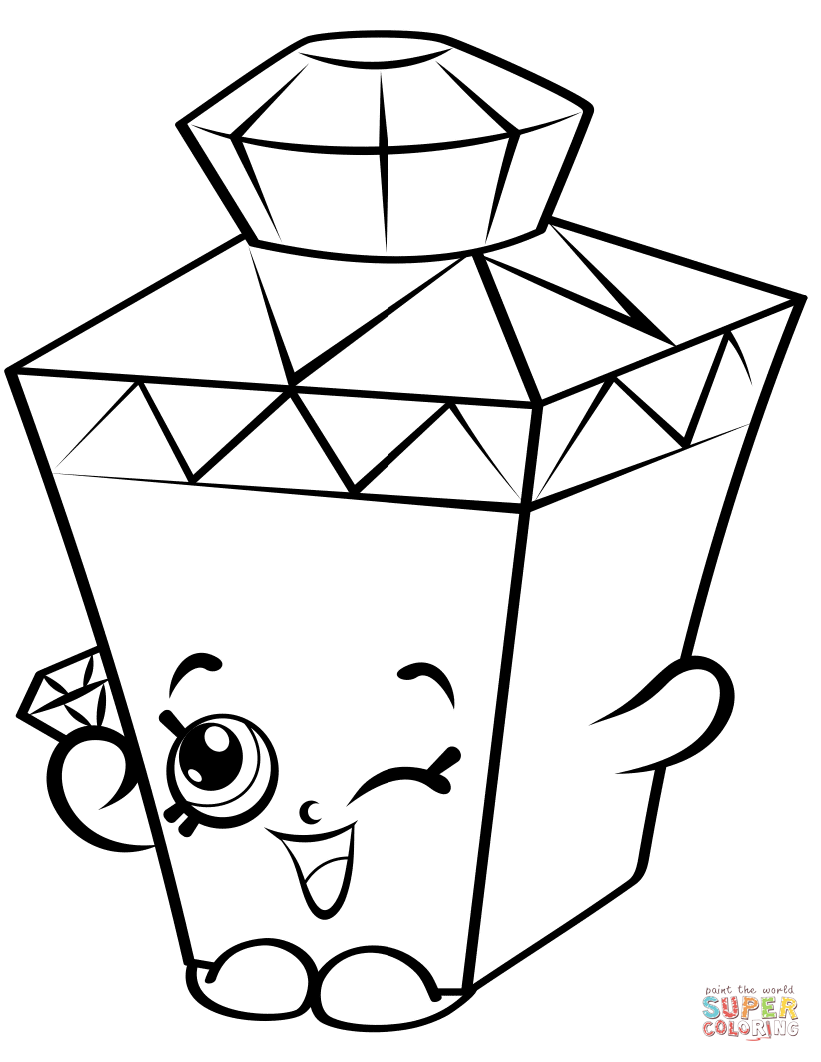 Shopkins Season 4 Coloring Pages.