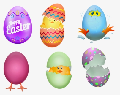 Free Easter Eggs Clip Art with No Background , Page 4.