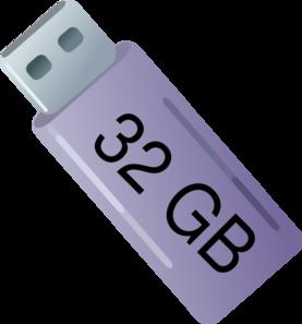 Usb 32 Gb Clip Art at Clker.com.