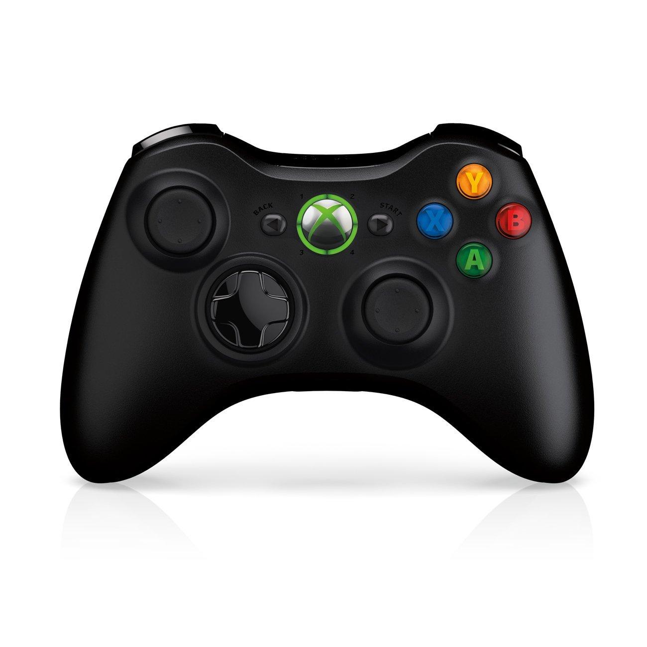 Black Xbox Controller Clipart.