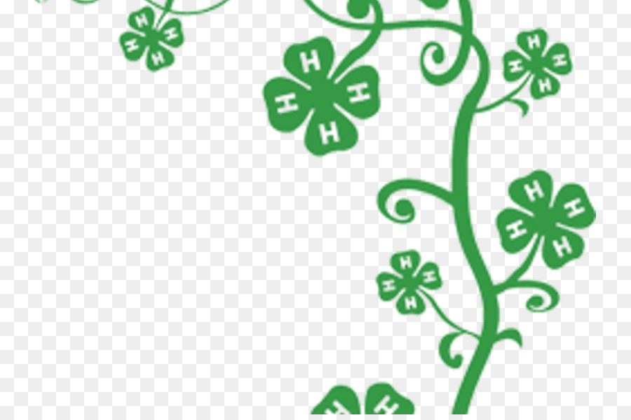 Download 4 h four leaf clover cattle clip art #1962550 png.