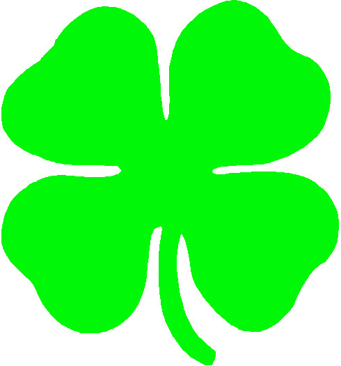 Four Leaf Clover Clipart at GetDrawings.com.