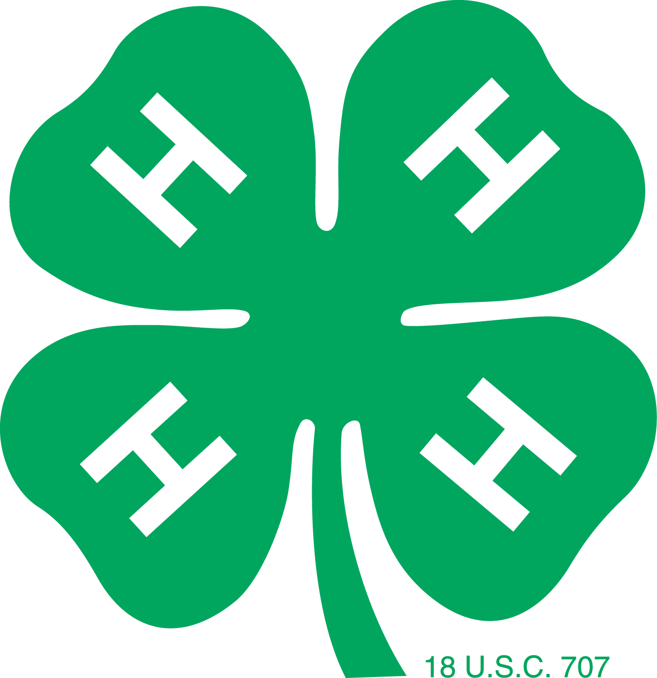 Meaning 4H logo and symbol.