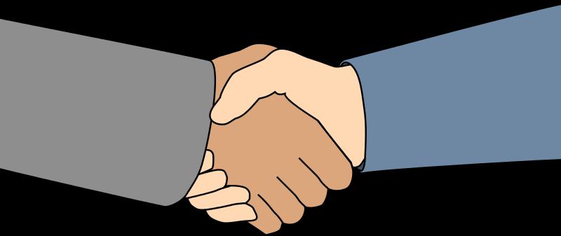 Handshake clipart 4.