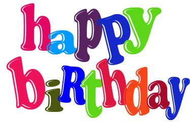 Happy birthday clipart 4 » Clipart Station.