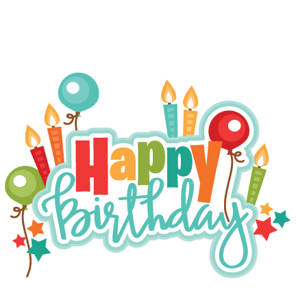 Clipart For Happy Birthday.