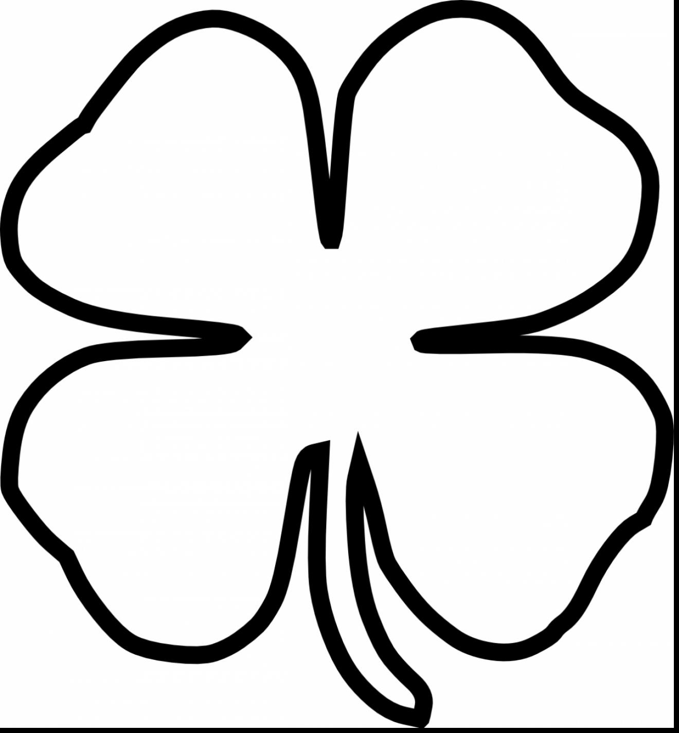 4 leaf clover clipart clipground