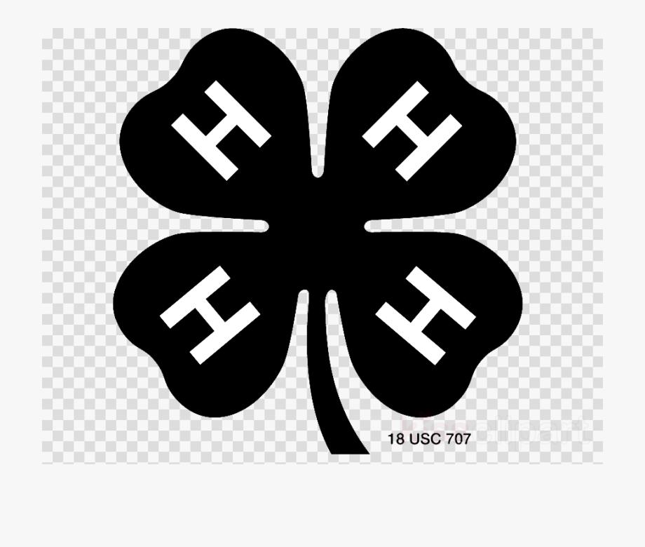 Four Leaf Clover Clipart White.