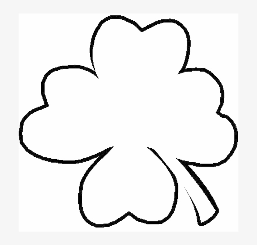 Shamrock Outline.