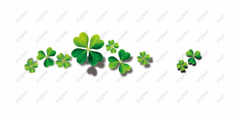 Unique Transparent Four Leaf Clover Png Format Image.