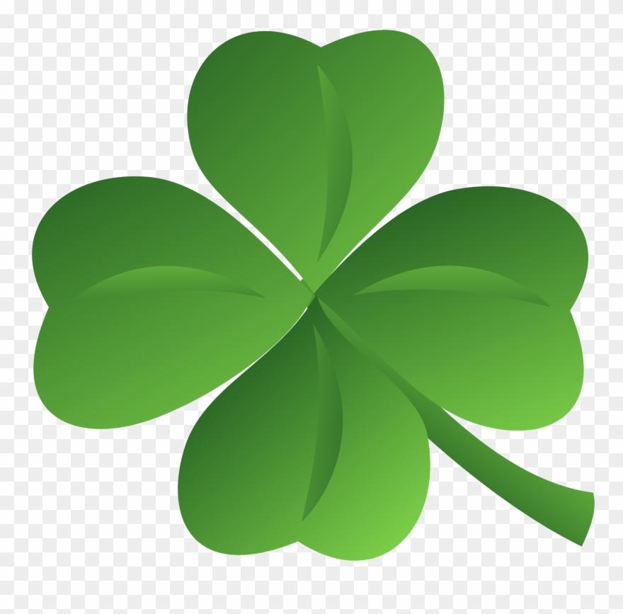 Transparent Clover Irish.