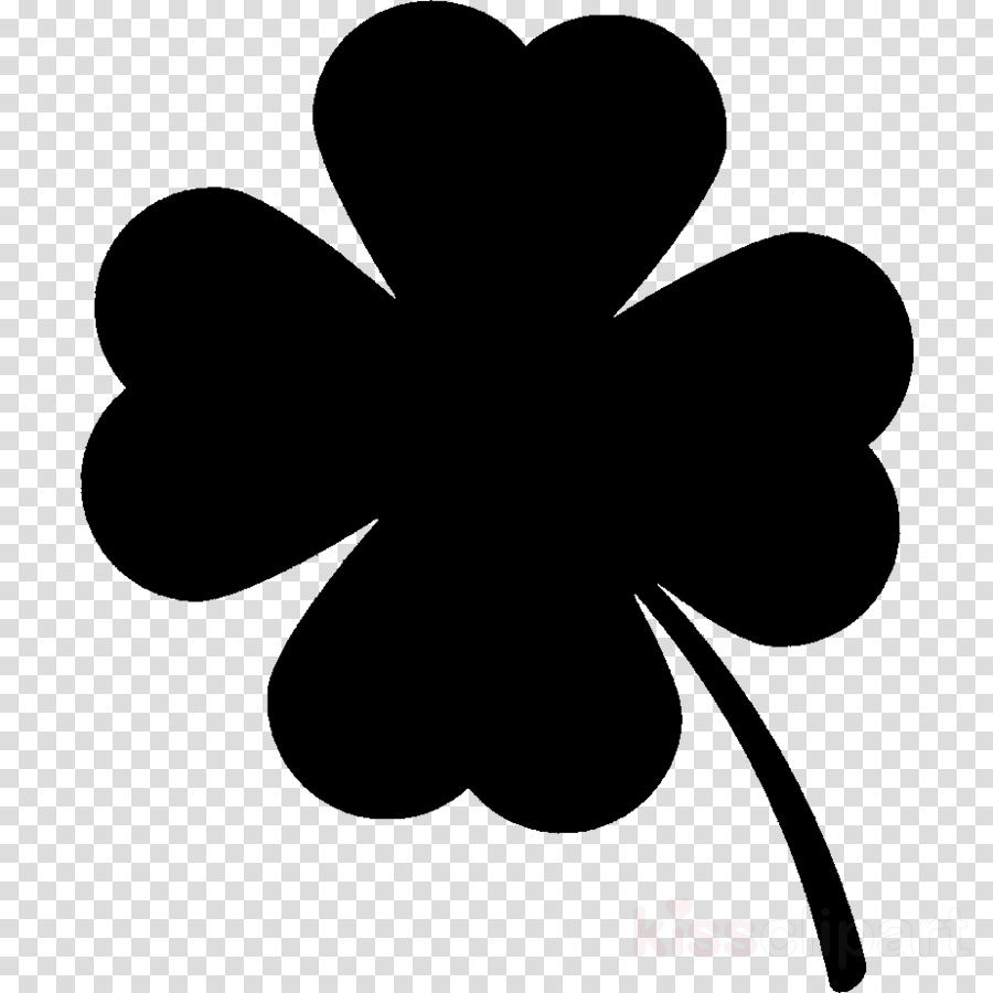 Flower Silhouette clipart.