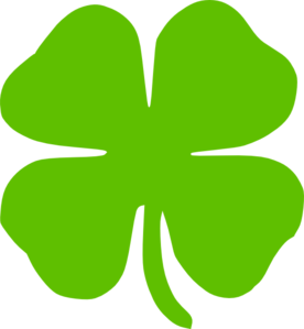 4 Leaf Clover Clip Art at Clker.com.