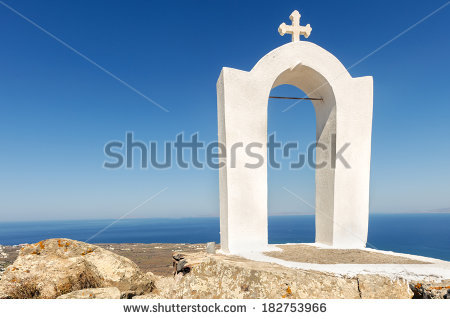 "greek Church Silhouette"" Stock Photos, Royalty."