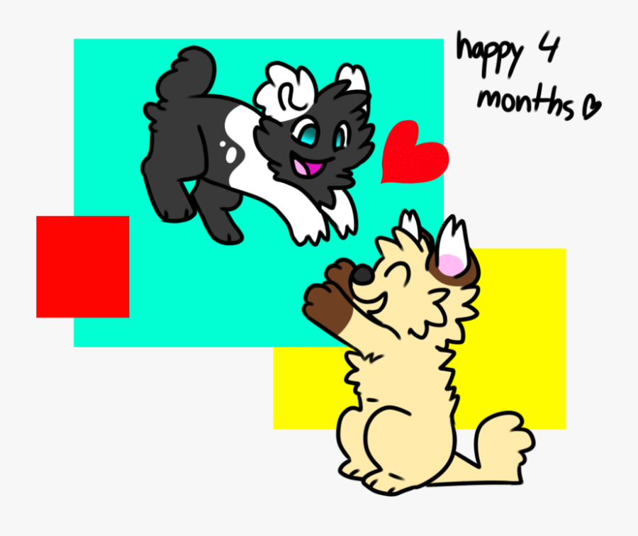 Happy 4 Months Anniversary By Choco.