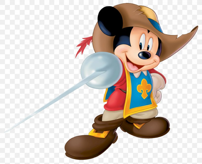 Mickey Mouse The Three Musketeers Donald Duck Goofy Porthos.