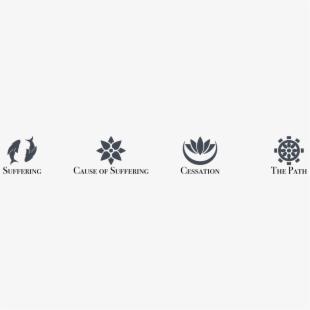 4 Noble Truths Symbol , Transparent Cartoon, Free Cliparts.